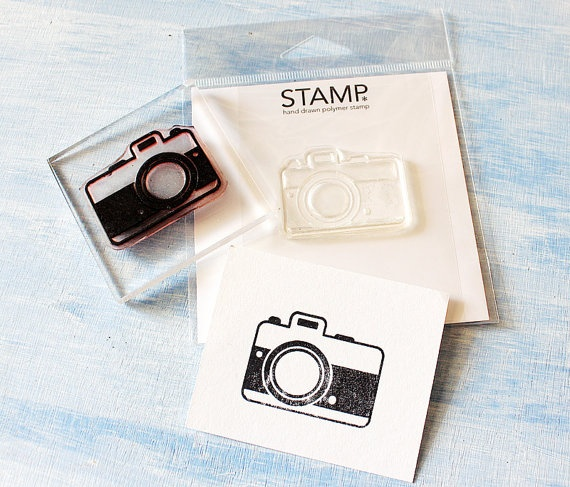 I can't get enough of the camera stamps!