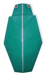 Origami Buprestid