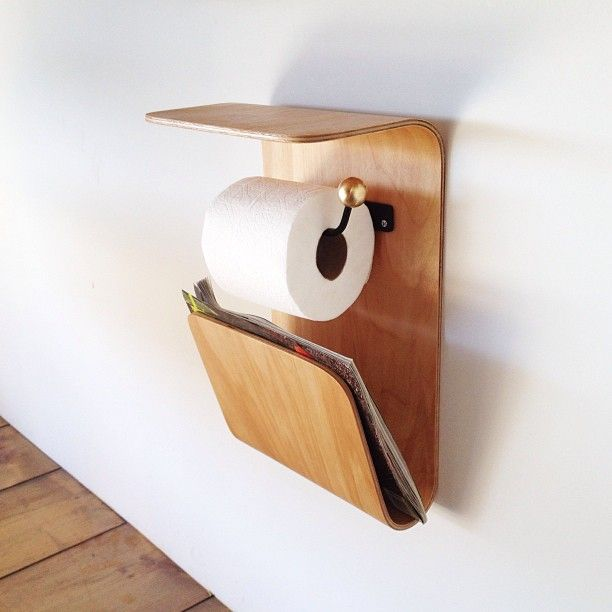 onefortythree / toilet roll holder / www.onefortythree.com