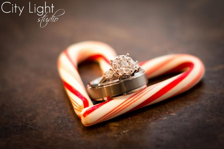 candy canes for a winter/ Christmas wedding. -- image by John Nettles, Jr. of City Light Studio, LLC.