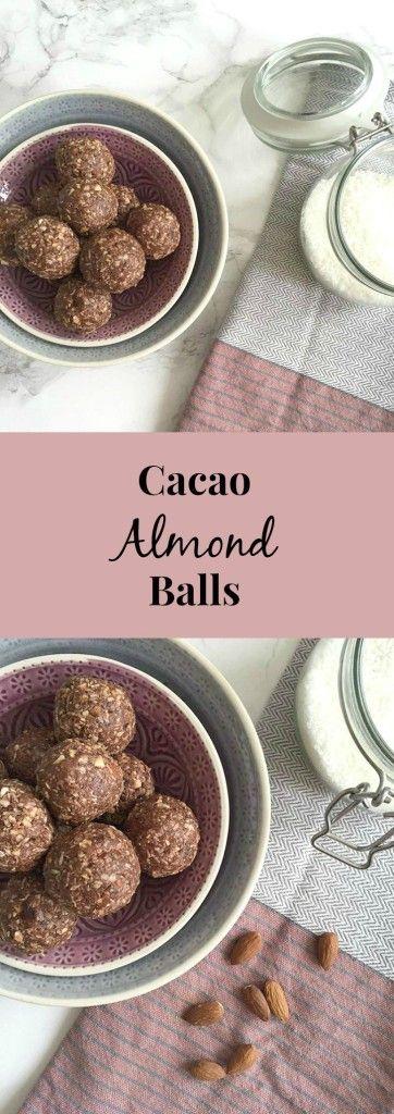 Cacao Almond Balls - Recipes