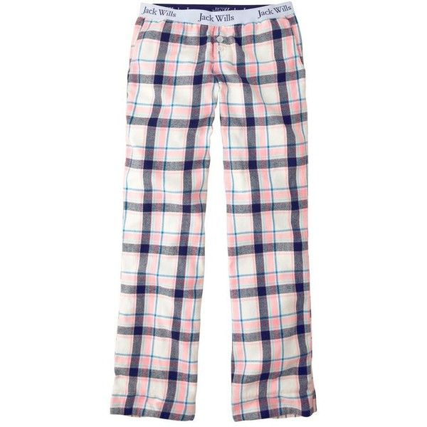 Jack Wills Holybourne Loungepants ($34) ❤ liked on Polyvore featuring intimates, sleepwear, pajamas, pants, bottoms, cotton pajamas, cotton sleepwear, cotton pjs and jack wills