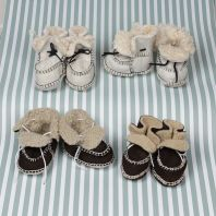 Soft and warm winter slipper for babies