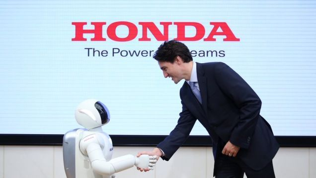 Today in Robot News: More Like Justin Trudeau-bot, Right?