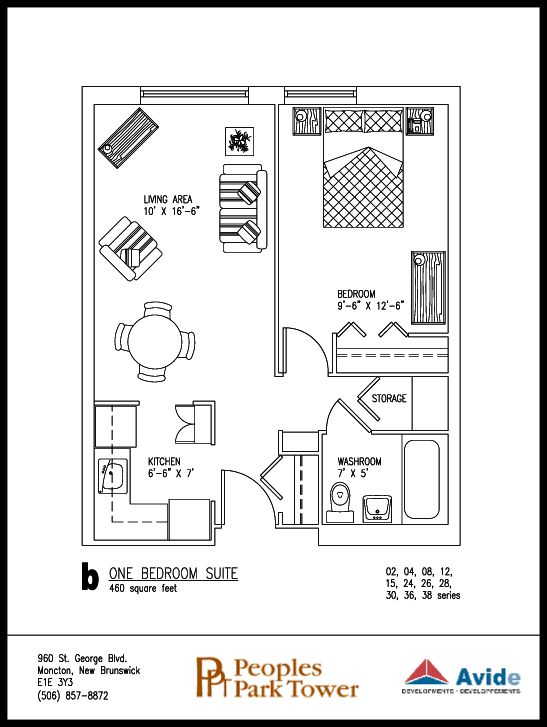 Ordinary 400 Square Foot Home Plans Part - 11: 400 Sq Ft Apartment Floor Plan - Google Search