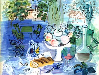 Raoul Dufy watercolor