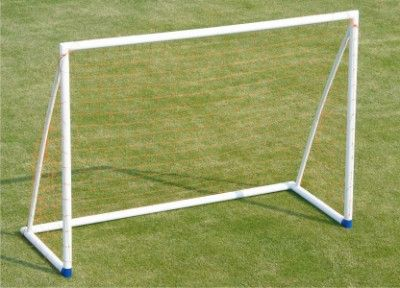 "Mini Soccer Goal Post - SEP:  Made of 2.5"" heavy 'SEP' tube. This can be assembled very easily within few minutes. Includes net and anchors to hold the goal on ground."