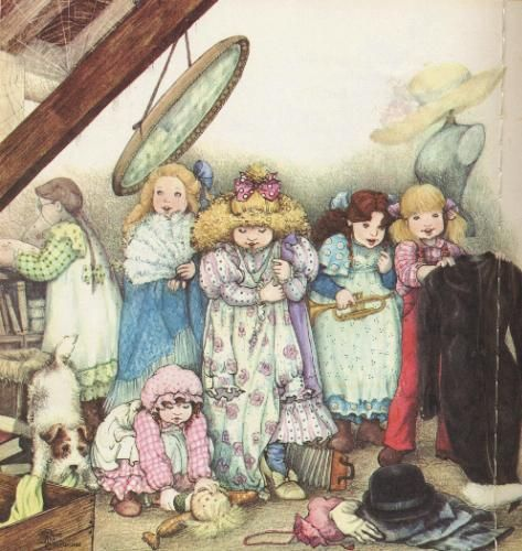 Rose Selarose - Once Upon A Time in the Medow - Book Illustration