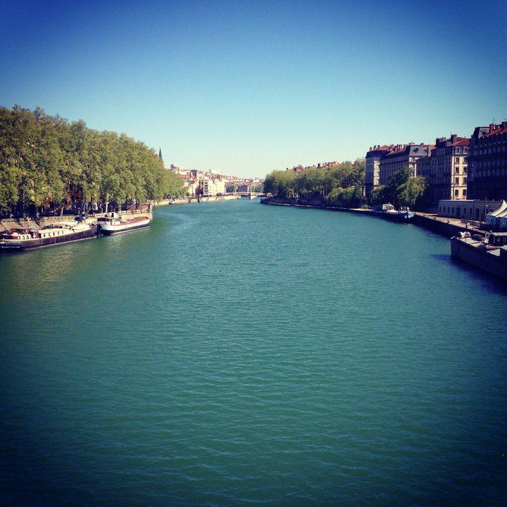 Vue sur la Saône - Lyon