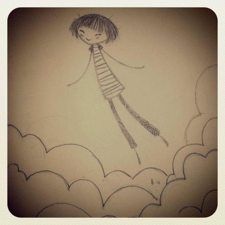 walking on air...