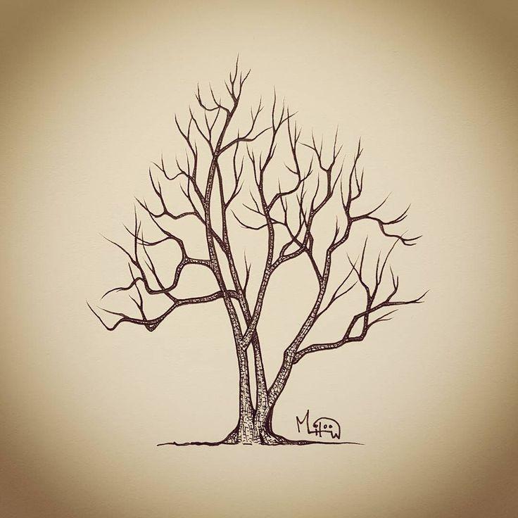 I Liked this Instagram: #일러스트 #그림 #손그림 #illustration #illustrator #illust #drawing #doodle #낙서 #스케치 #sketch #artwork #artist #나무 #tree #trees #nature #풍경 #pen #pendrawing #ink #painter #instaart #picture #landscape #zentangle #가을 #inktober by miloow.garden