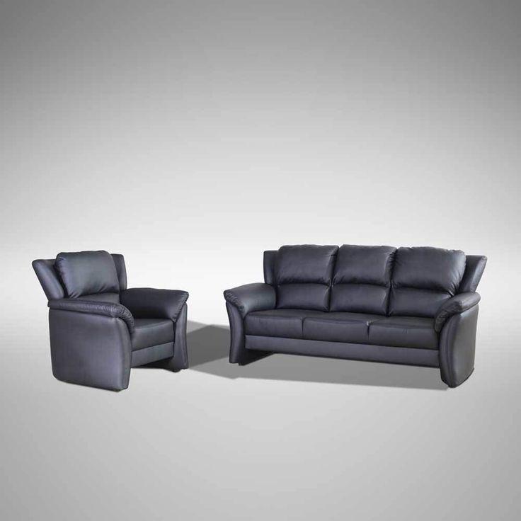 Couch mit Sessel Schwarz (2-teilig) Jetzt bestellen unter: https://moebel.ladendirekt.de/wohnzimmer/sofas/garnituren/?uid=4ada6fef-a9ac-5671-9260-1778d7be9947&utm_source=pinterest&utm_medium=pin&utm_campaign=boards #sofagarnitur #sofa #garnituren #garnitur #sofas #couchgarnitur #ledergarnitur #polstergarnitur #couch #leder #wohnzimmer #ledercouchgarnitur
