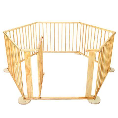 Baby Wooden Playpen - LetsElude