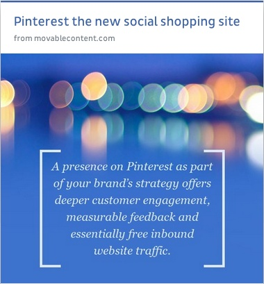 how @Pinterest can strengthen your #brand
