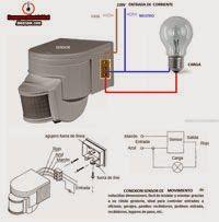Esquemas eléctricos: conexion sensor de movimiento