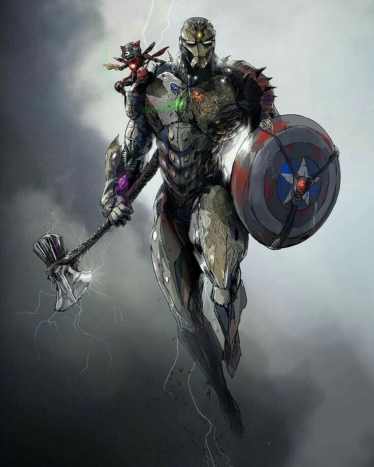 Super-Adaptoid | Marvel comics wallpaper, Superhero, Marvel avengers