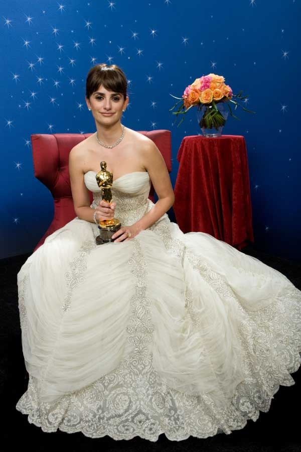 Oscar¨ Winner Penelope Cruz backstage during the live ABC Telecast of the 81st Annual Academy Awards¨ from the Kodak Theatre, in Hollywood, CA Sunday, February 22, 2009.