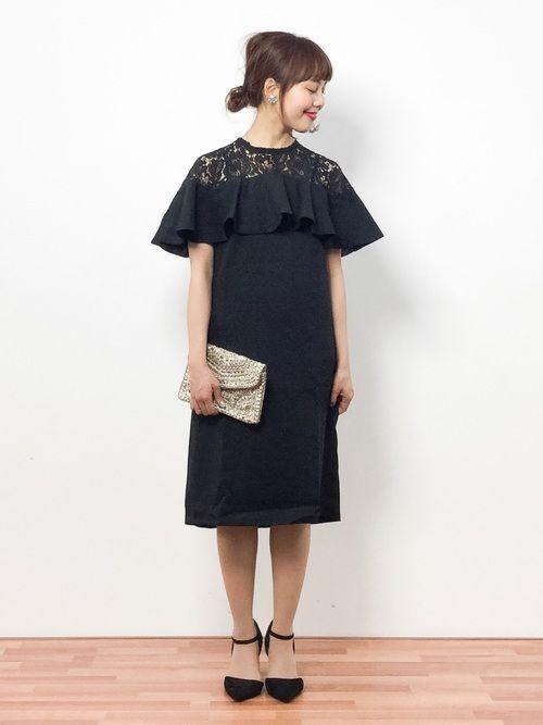 titivateのワンピース「フリルスリーブレース切替ワンピース」を使った内山陽菜(ZOZOTOWN)のコーディネートです。WEARはモデル・俳優・ショップスタッフなどの着こなしをチェックできるファッションコーディネートサイトです。