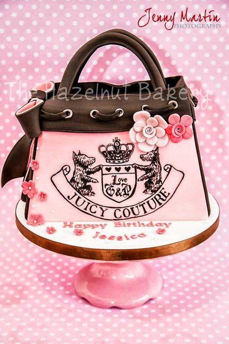 Juicy Couture Handbag Cake