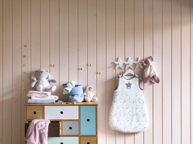Micasa Kinderzimmer mit Kommode CAROLYN und Schlafsack AURA