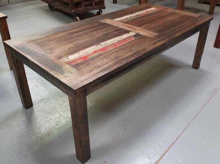 Recycled timber furniture | Recycled timber dining tables | Collingwood warehouse and show room