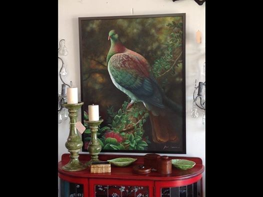 Incredible oil on canvas by Marlborough artist Phil Dunn