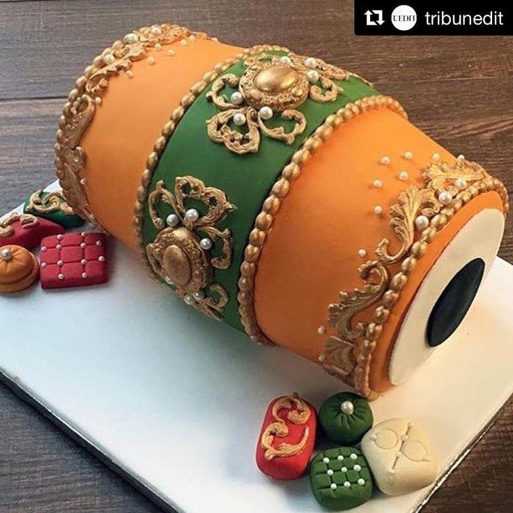 Mehndi Dholki Cake : Best ideas about mehndi cake on pinterest turquoise