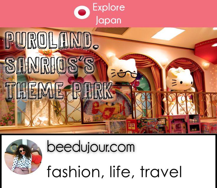 Puroland, Sanrio's Themepark · Bee Du Jour
