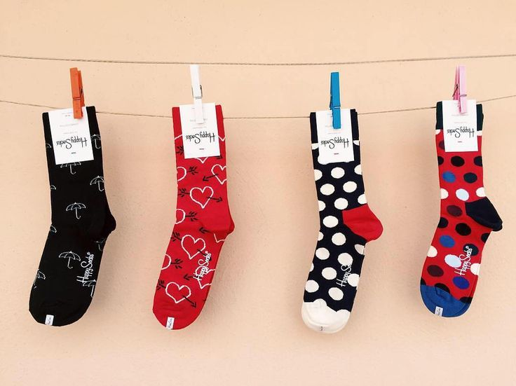 Line 'em up!  @emanuelaizzo #HappySocks #HappinessEverywhere
