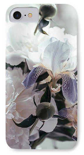 Jenny Rainbow Fine Art Photography IPhone 7 Case featuring the photograph Peony Romance by Jenny Rainbow