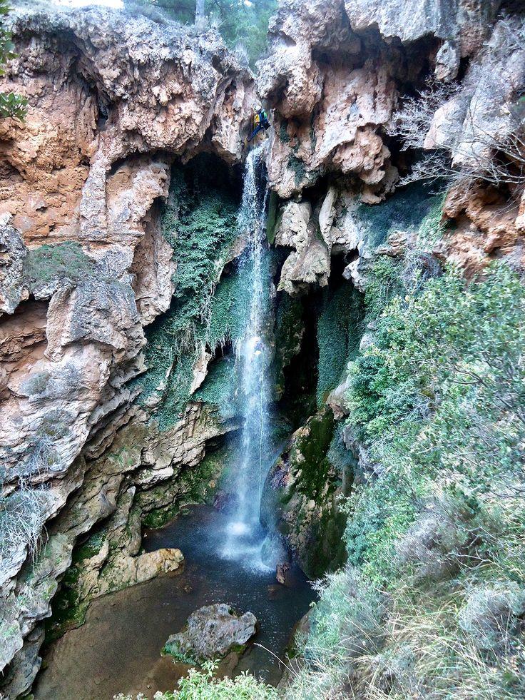 Barranco de los Amanaderos en la Sierra de Javalambre, Teruel