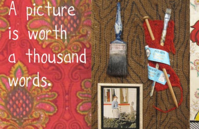 A Picture Is Worth a Thousand Words - Handmade Histories image