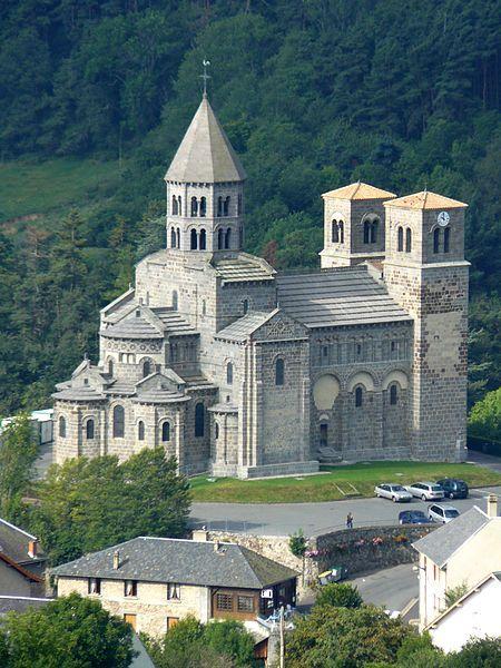 Saint-Nectaire Church (Puy-de-Dôme; France)