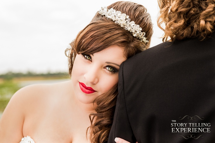 Beautiful Bride (Makeup not photo-shopped). Hair, Makeup and Photography by The Story Telling Experience