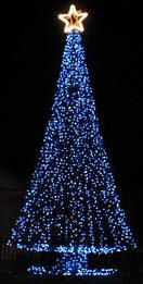 Marvelous How To Build A Large Outdoor Christmas Tree. PlanetChristmas Megatrees Photo