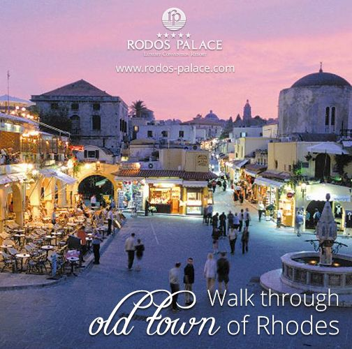 See our island's attractions. Stay in Rodos Palace Hotel. #rodos #rhodes #hotel #old #town #Greece #island #Mediterranean #Unesco