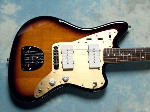Fender Japan Limited Edition JM66/ALG faded 3 Sunburst-Jazz Master