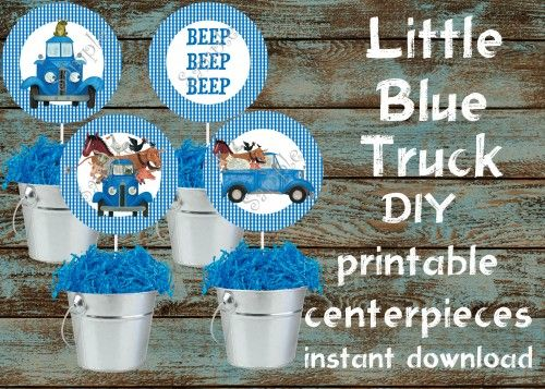 15 best Little Blue Truck images on Pinterest Little blue trucks