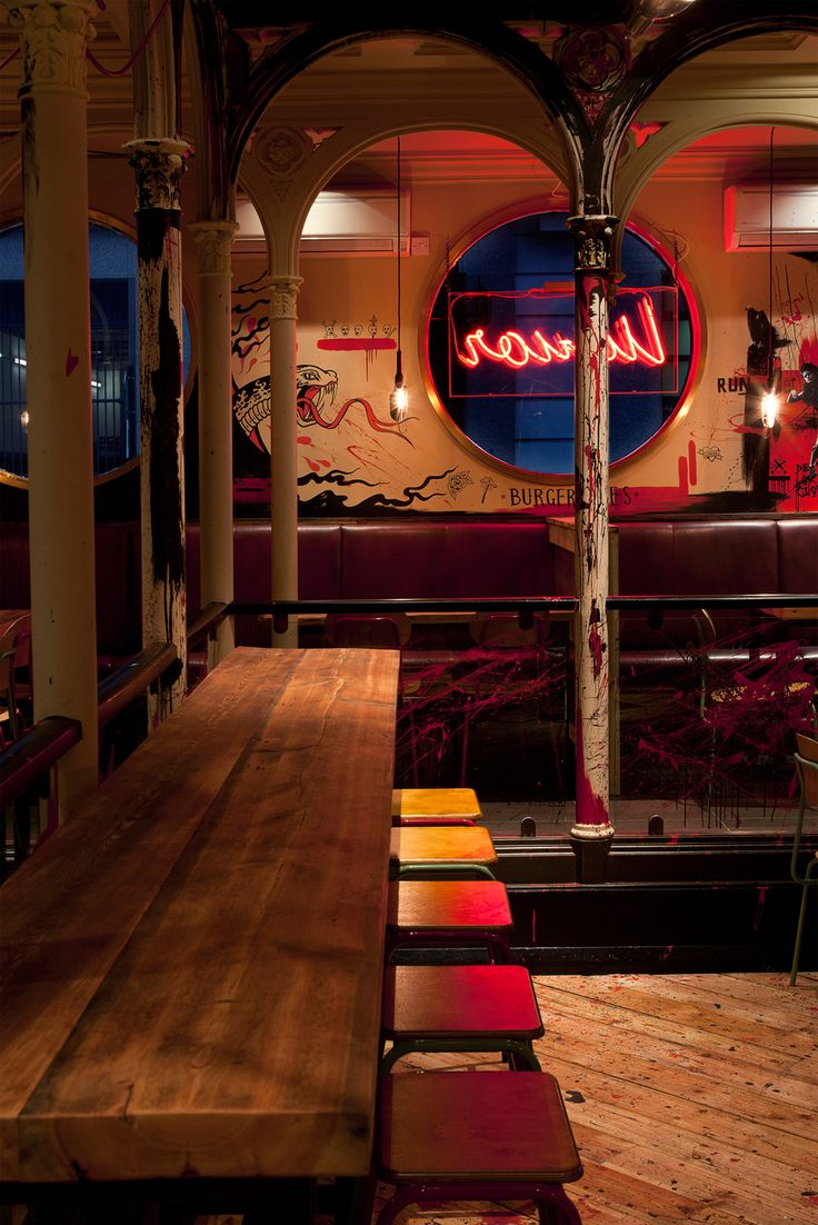 Meat Liquor London — Shed — Interior Architecture & Design
