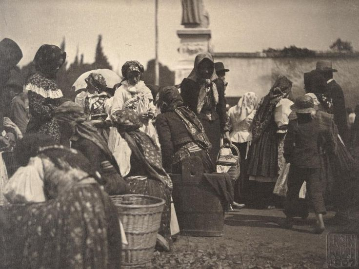 On a pilgrimage to Velehrad, 1904 Erwin Raupp (Source: National Museum)
