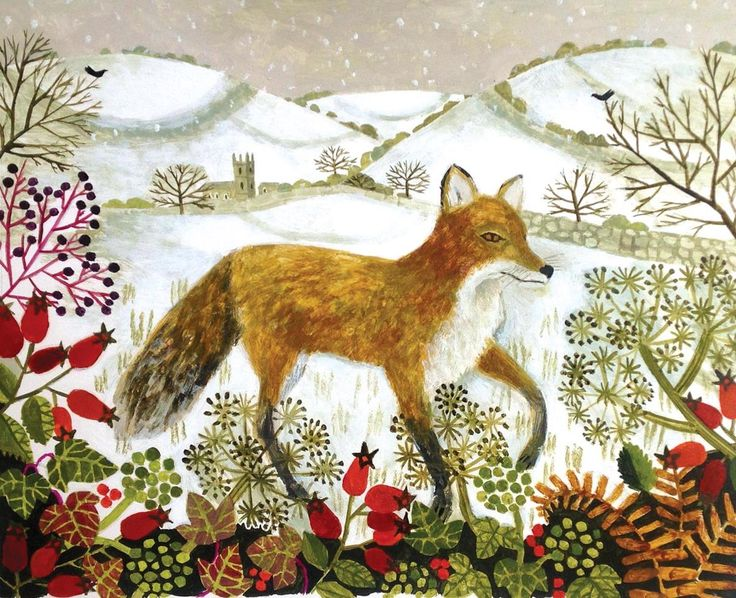 'Fox in the Snow' by Vanessa Bowman
