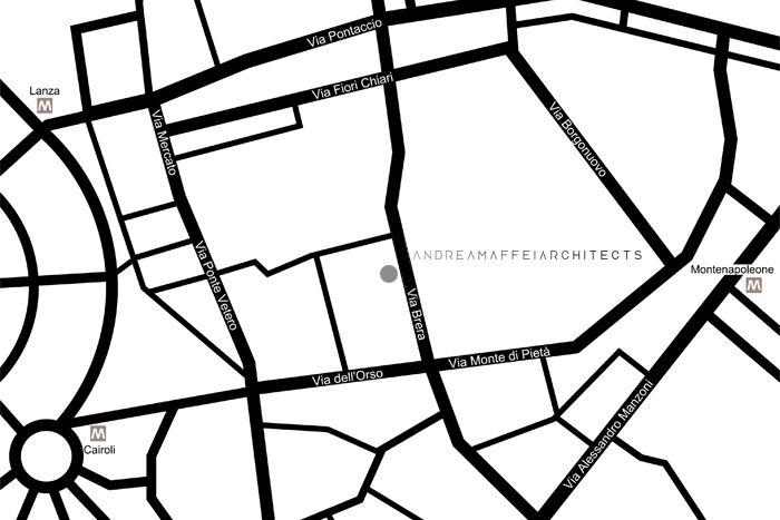 Andrea Maffei Architects - Via Brera 9, 20121 Milano - e-mail: info@amarchitects.it
