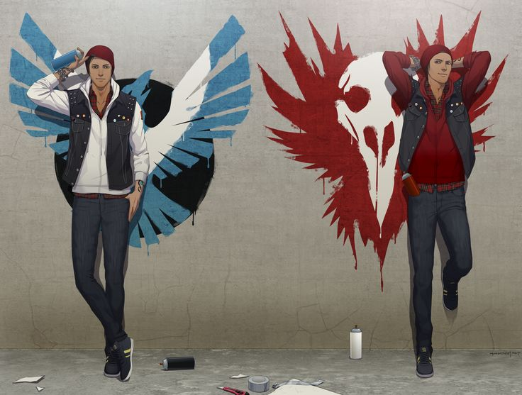 Infamous Second Son Evil Logo