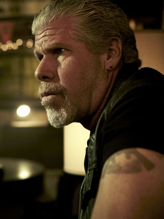 "Ron Perlman as Clarence ""Clay'' Morrow"
