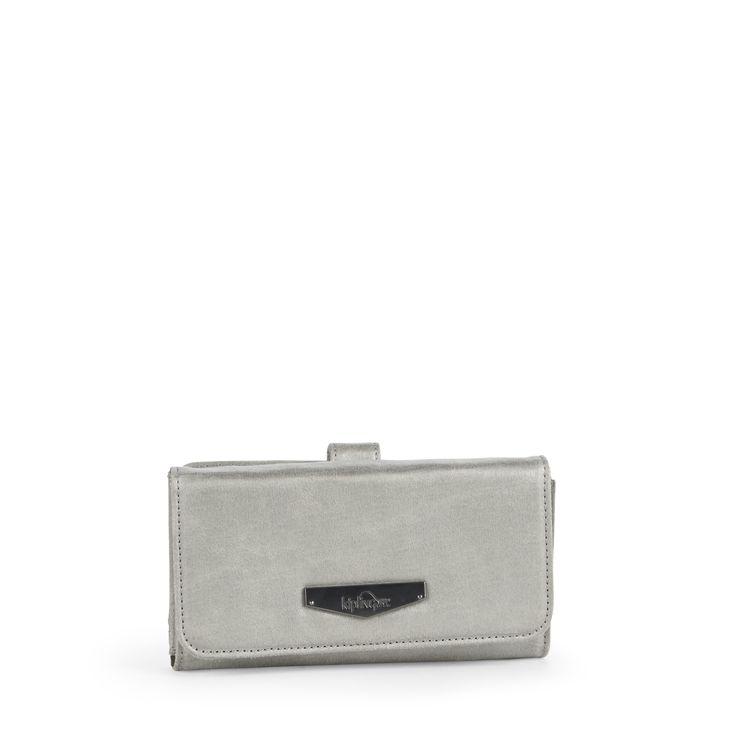 Kipling Silver Clutch