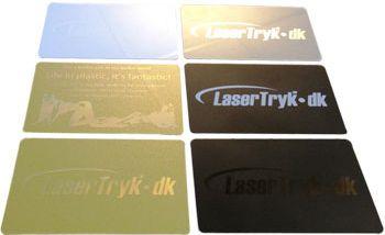 Plastikkort - Priser på trykning af billige plastikkort - LaserTryk.dk ©