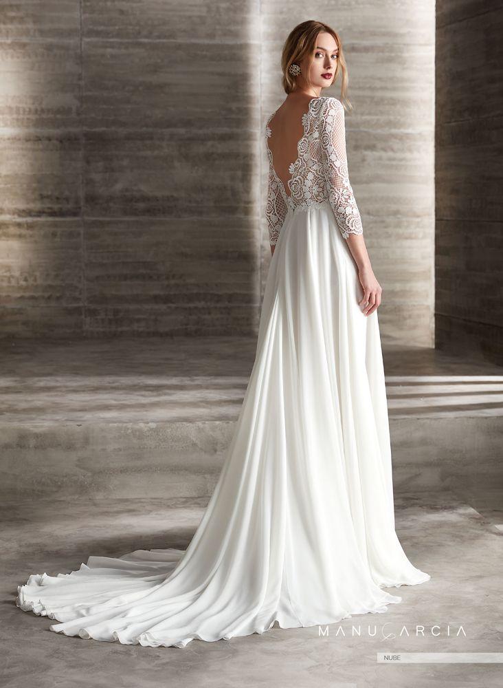colección 2019 de vestidos de novia de manu garcía - modelo nadia