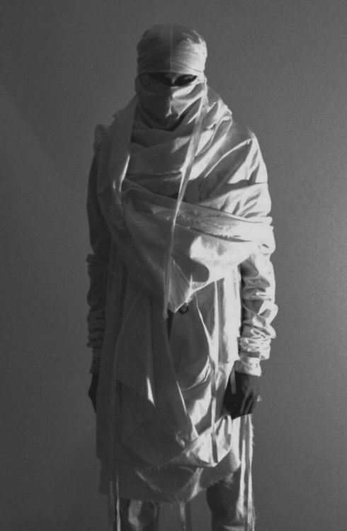 mask, inspiration, clothing, casual form, pose, fabric, shadow