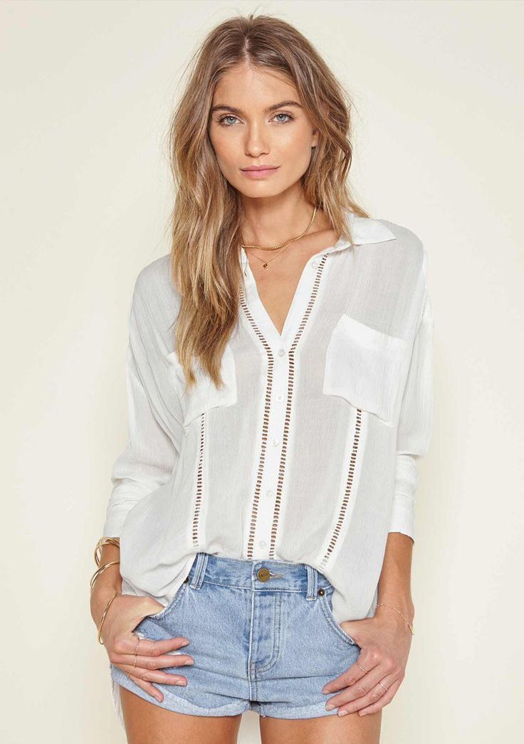 Amuse Society - Belmont Woven Top
