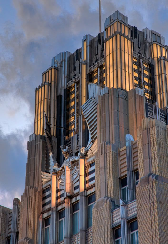 myreveries:The Niagara Mohawk Building in Syracuse, New York
